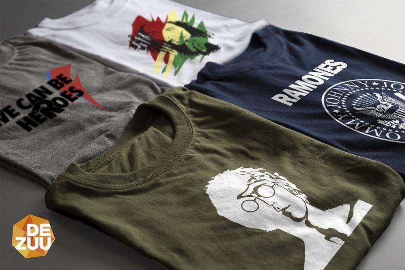3b82ea7c4 4 camisetas musica. CAMISETAS PERSONALIZADAS ...