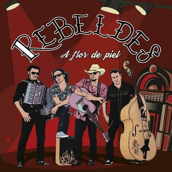 Rebeldes publican nuevo disco A flor de piel