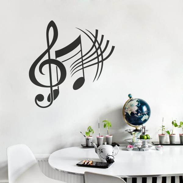 COMO NOTAS MUSICALES PARA DECORAR PAREDES7