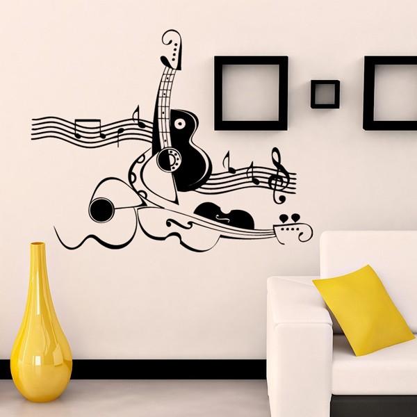 como notas musicales para decorar paredes el estilo vintage en todo decoracin moda y hasta msica es siempre una grata vuelta al pasado - Decorar Paredes