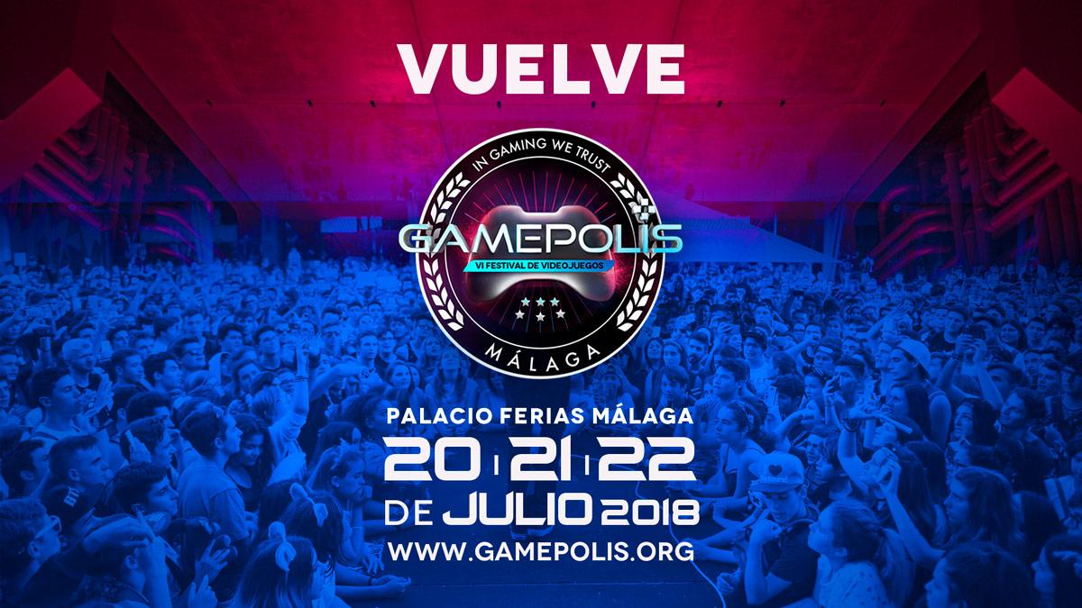 Banner Vuelve Gamepolis