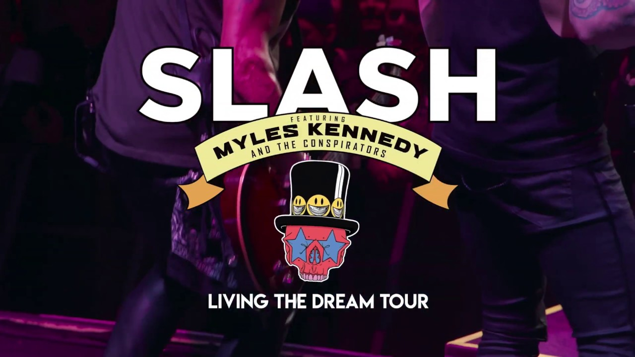 living the dream tour slash co