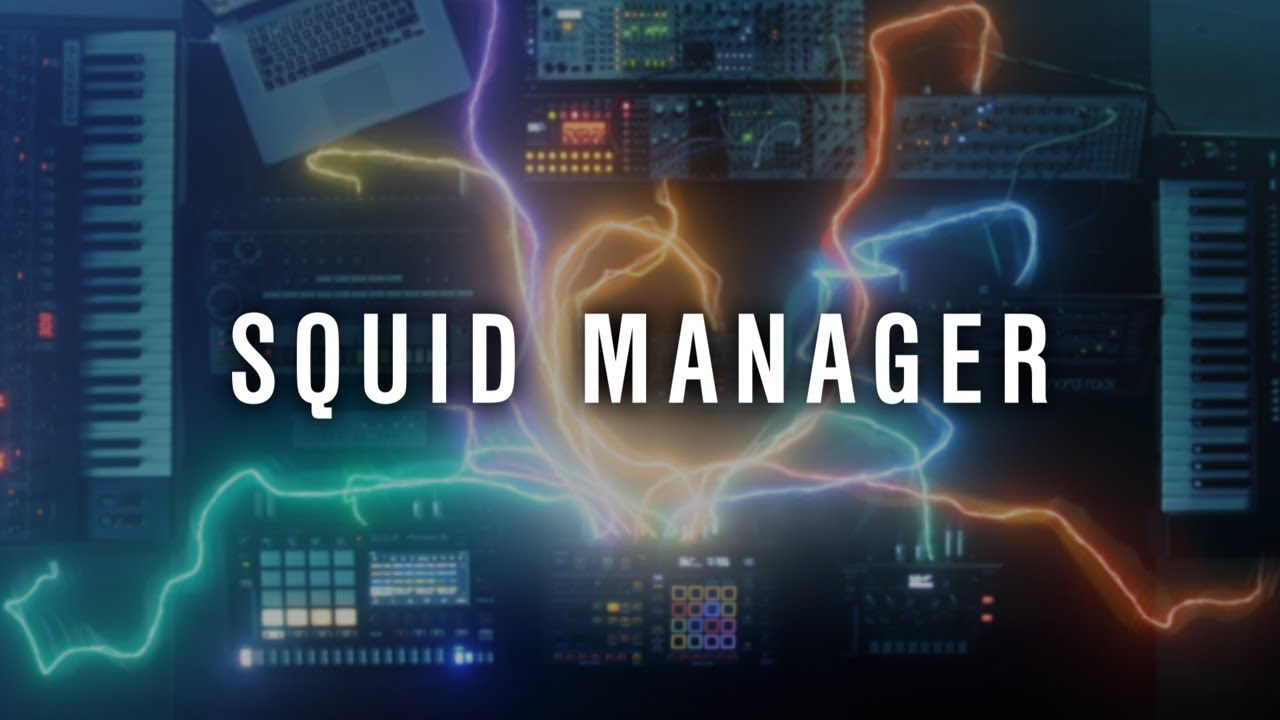 secuenciador multipista squid de