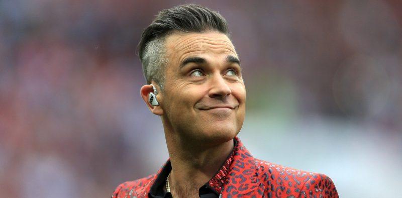 ¿La gente Piensa que sigue siendo Robbie Williams Hot?