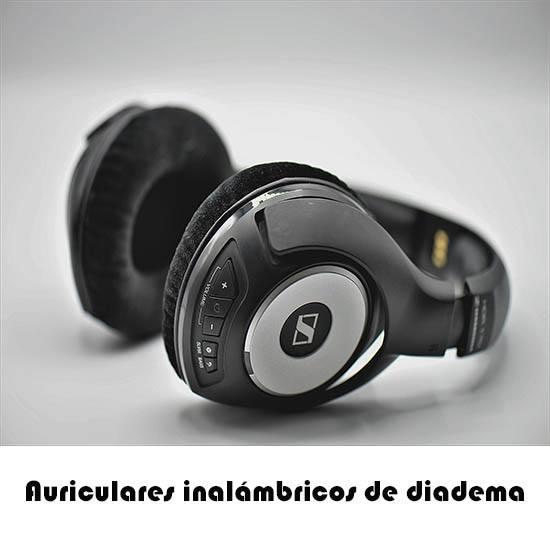 auriculares inalambricos de diadema