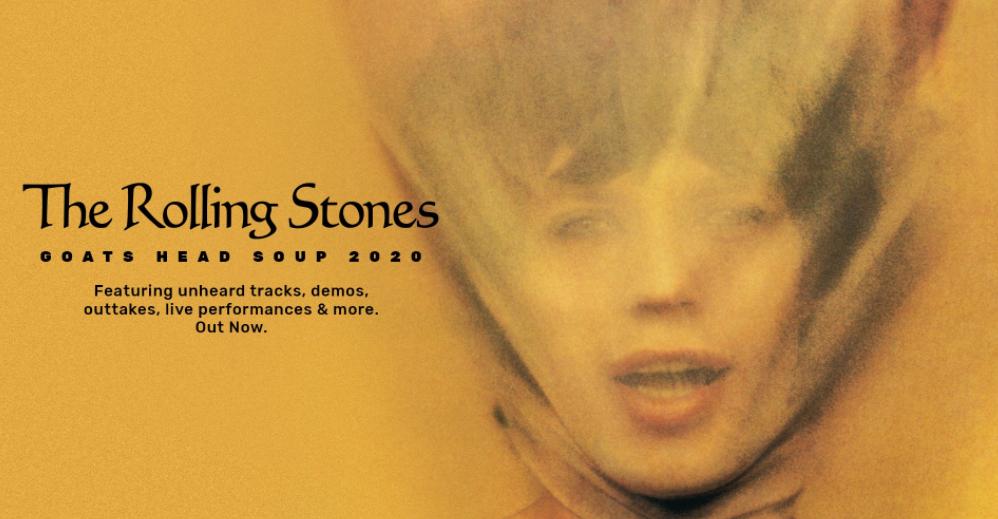 "Rolling Stones publican ""Goats Head Soup 2020"" reedición de un antiguo disco"
